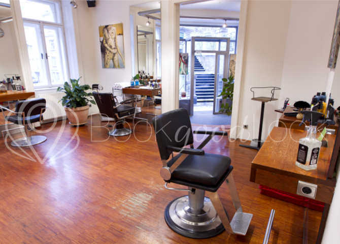 Salon Stufenschnitt